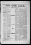 Sierra County Advocate, 1885-03-28 by J.E. Curren