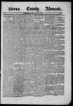 Sierra County Advocate, 1885-05-16 by J.E. Curren