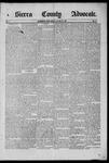 Sierra County Advocate, 1885-05-23 by J.E. Curren