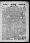 Sierra County Advocate, 1885-06-20 by J.E. Curren