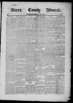 Sierra County Advocate, 1885-07-04 by J.E. Curren