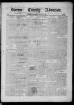 Sierra County Advocate, 1885-07-11 by J.E. Curren