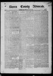 Sierra County Advocate, 1885-07-18 by J.E. Curren