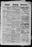 Sierra County Advocate, 1885-07-25 by J.E. Curren