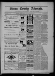 Sierra County Advocate, 1902-04-25 by J.E. Curren
