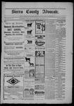 Sierra County Advocate, 1902-09-05 by J.E. Curren