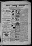 Sierra County Advocate, 1902-11-28 by J.E. Curren