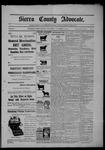 Sierra County Advocate, 1903-09-25 by J.E. Curren