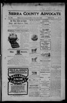 Sierra County Advocate, 1905-06-09 by J.E. Curren