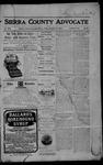 Sierra County Advocate, 1905-11-10 by J.E. Curren