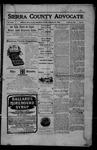 Sierra County Advocate, 1905-11-24 by J.E. Curren