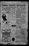 Sierra County Advocate, 1905-12-22 by J.E. Curren