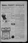 Sierra County Advocate, 1906-01-19 by J.E. Curren