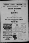Sierra County Advocate, 1906-03-16 by J.E. Curren