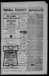 Sierra County Advocate, 1906-07-06 by J.E. Curren