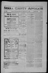 Sierra County Advocate, 1906-10-05 by J.E. Curren