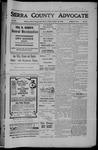 Sierra County Advocate, 1906-10-19 by J.E. Curren