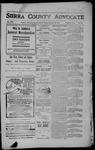 Sierra County Advocate, 1906-11-09 by J.E. Curren