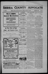 Sierra County Advocate, 1907-02-15 by J.E. Curren