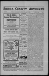 Sierra County Advocate, 1907-04-26 by J.E. Curren
