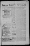 Sierra County Advocate, 1907-06-07 by J.E. Curren