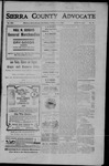 Sierra County Advocate, 1907-07-05 by J.E. Curren