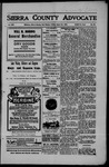 Sierra County Advocate, 1907-08-23 by J.E. Curren