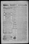 Sierra County Advocate, 1908-01-17 by J.E. Curren