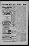 Sierra County Advocate, 1908-03-13 by J.E. Curren