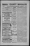 Sierra County Advocate, 1908-03-27 by J.E. Curren