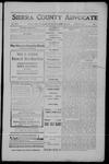 Sierra County Advocate, 1908-04-10 by J.E. Curren