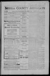 Sierra County Advocate, 1908-04-24 by J.E. Curren
