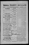 Sierra County Advocate, 1908-05-08 by J.E. Curren