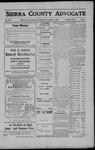 Sierra County Advocate, 1908-05-15 by J.E. Curren