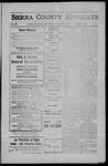 Sierra County Advocate, 1908-05-22 by J.E. Curren
