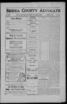 Sierra County Advocate, 1908-05-29 by J.E. Curren