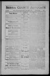 Sierra County Advocate, 1908-06-05 by J.E. Curren