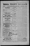 Sierra County Advocate, 1908-06-12 by J.E. Curren