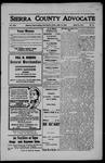 Sierra County Advocate, 1908-06-19 by J.E. Curren