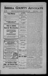 Sierra County Advocate, 1908-06-26 by J.E. Curren