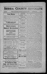 Sierra County Advocate, 1908-07-03 by J.E. Curren