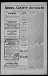 Sierra County Advocate, 1908-07-10 by J.E. Curren