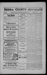 Sierra County Advocate, 1908-07-24 by J.E. Curren