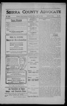 Sierra County Advocate, 1908-07-31 by J.E. Curren