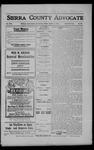 Sierra County Advocate, 1908-08-07 by J.E. Curren