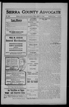 Sierra County Advocate, 1908-08-14 by J.E. Curren