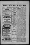 Sierra County Advocate, 1908-08-21 by J.E. Curren