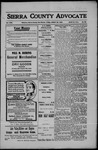 Sierra County Advocate, 1908-08-28 by J.E. Curren