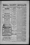 Sierra County Advocate, 1908-09-04 by J.E. Curren