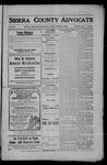 Sierra County Advocate, 1908-10-02 by J.E. Curren